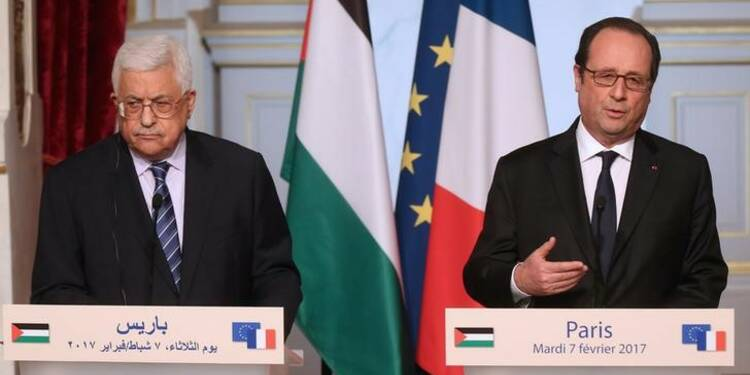 Abbas et Hollande condamnent la loi israélienne sur les colonies