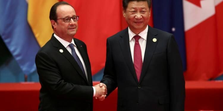 G20: à Hangzhou, Hollande fixe les trois objectifs de la France