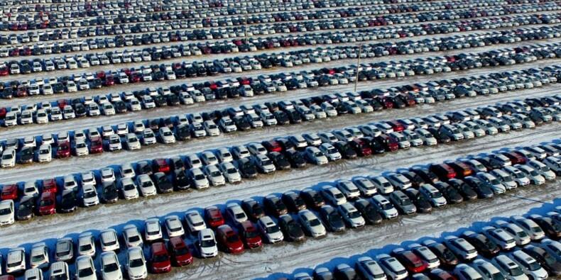 Le marché automobile chinois en hausse de 0,2% en janvier