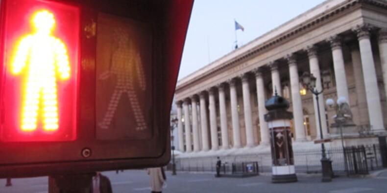 Vif repli de la Bourse de Paris dans des volumes limités