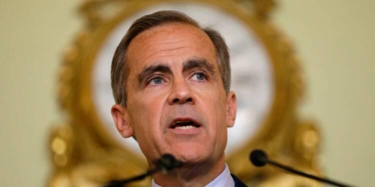 Le sort du gouverneur de la Banque d'Angleterre incertain