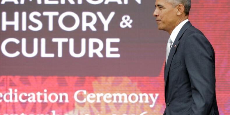 Le président Obama inaugure un musée afro-américain à Washington