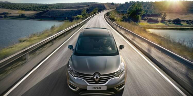 Le dernier Renault Espace, nouveau symbole du «Dieselgate»