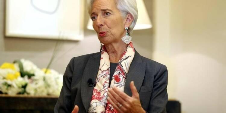 Lagarde croit à une solution pour la dette de la Grèce