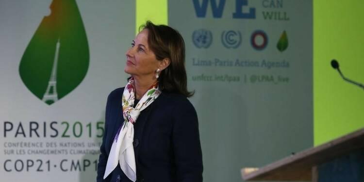 Ségolène Royal presse l'UE de ratifier l'accord de la COP21
