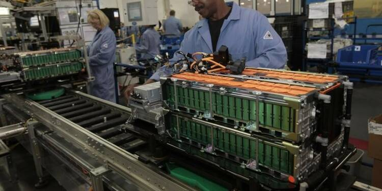 Légère hausse de la production industrielle américaine