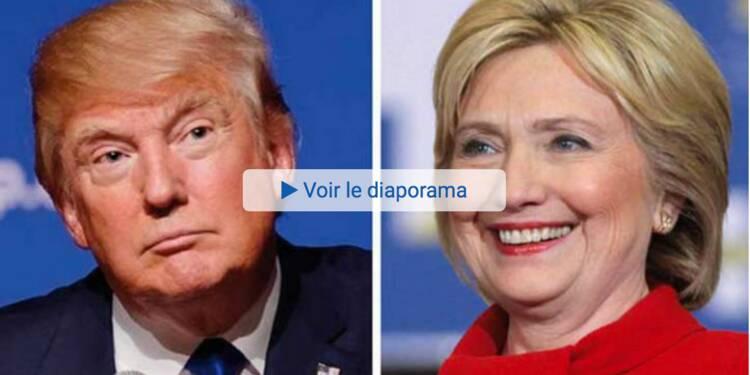 Présidentielle américaine : Où voir le débat Clinton -Trump ?