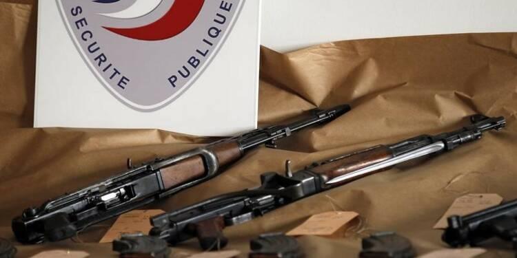 Un stock d'armes découvert à Marseille