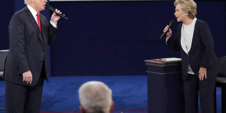 Deuxième débat acrimonieux entre Trump et Clinton