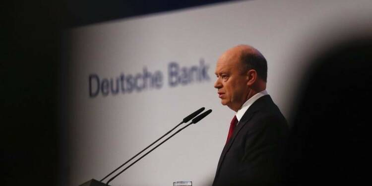John Cryan, le patron de Deutsche Bank, monte au créneau