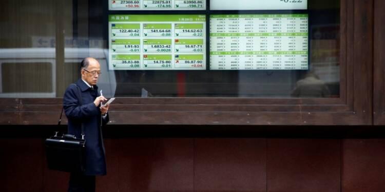 Tokyo finit en léger repli, les tensions géopolitiques pèsent