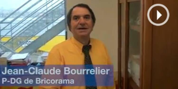 Dans le bureau de Jean-Claude Bourrelier, patron de Bricorama