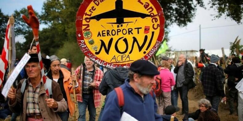 Hollande aurait hésité sur l'aéroport de Notre-Dame-des-Landes