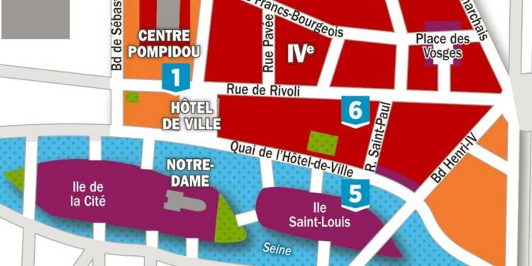 Immobilier : la carte des prix dans les 3ème et 4ème arrondissements de Paris