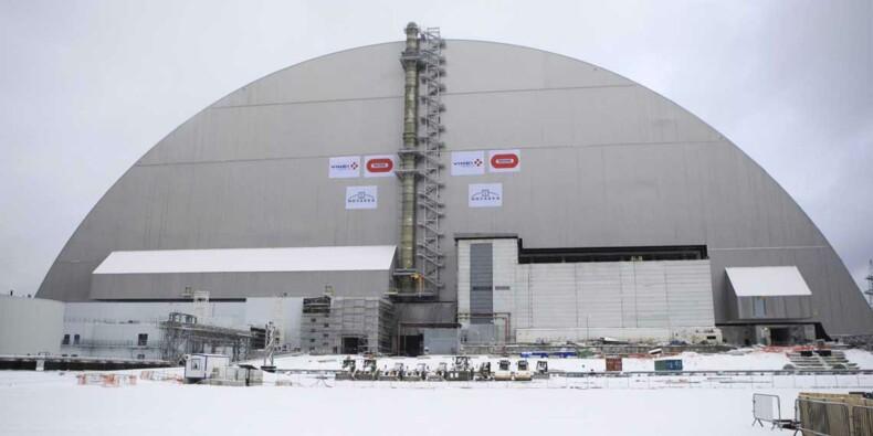 Les chiffres fous du nouveau sarcophage de Tchernobyl