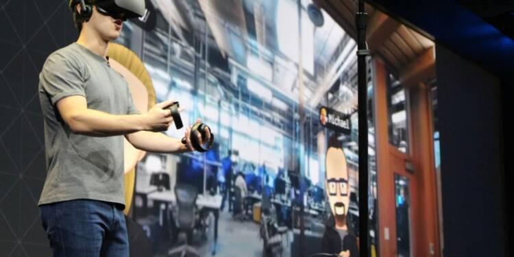 Facebook poursuit l'offensive en réalité virtuelle avec de nouveaux produits pour Oculus
