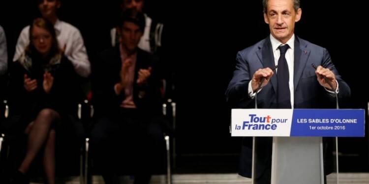 "En Vendée, Nicolas Sarkozy pourfend la ""pensée molle"""