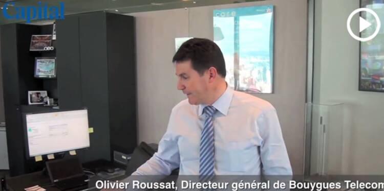 Le bureau de… Olivier Roussat, directeur général de Bouygues Telecom