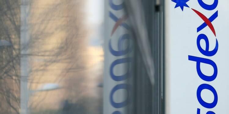 Sodexo prévoit une hausse d'environ 3% de ses ventes en 2016-17