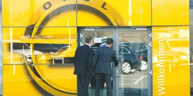 L'Etat restera vigilant sur l'emploi de rachat d'Opel par PSA