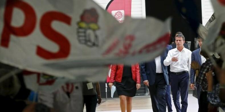 Valls, possible recours d'un PS qui craint le pire