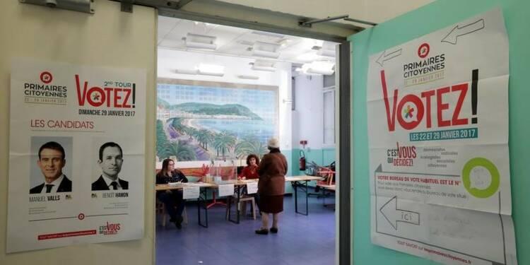 Plus de 567.000 votants à la primaire à gauche à midi