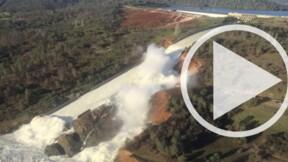 Le plus haut barrage des Etats-Unis menace de rompre