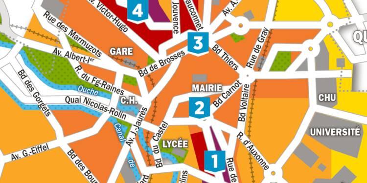 Immobilier : la carte des prix à Dijon
