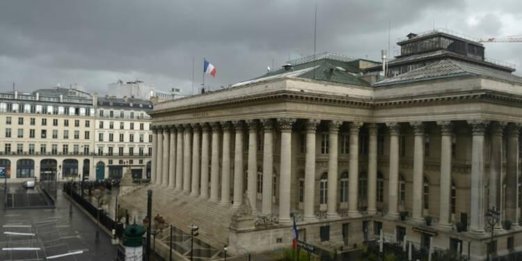 Sensible à l'euro et au pétrole, la Bourse de Paris termine dans le rouge