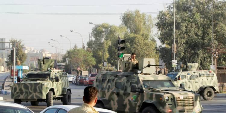 Pendant la bataille de Mossoul, l'EI fait diversion sur Kirkouk