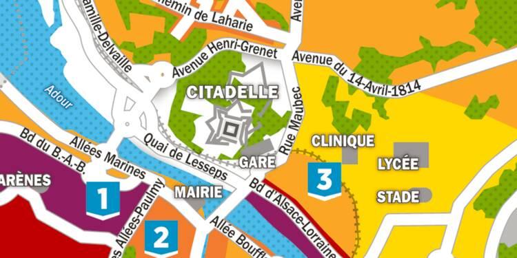 Immobilier : la carte des prix à Bayonne