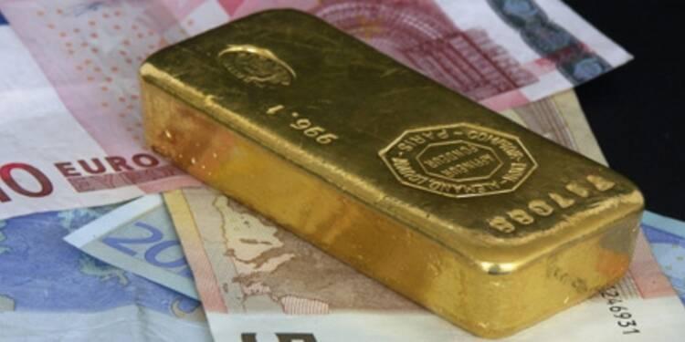 Le cours de l'or plonge, la demande de l'Inde en berne