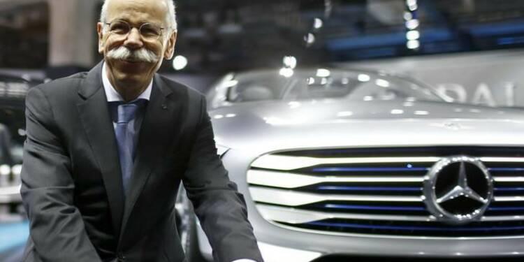 Daimler crée une nouvelle division pour le numérique