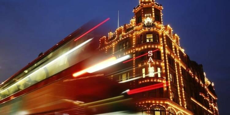 Les touristes se sont rués à Londres pour leurs achats de luxe