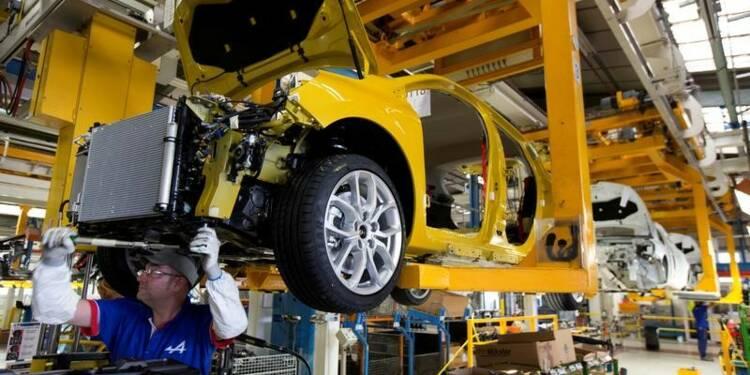 La production industrielle repart en baisse en septembre