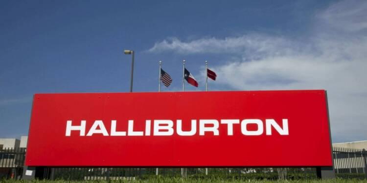 Halliburton renoue avec le bénéfice, le titre grimpe