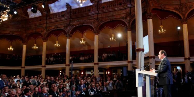 Hollande attaque Sarkozy et les prétendants de droite à l'Elysée