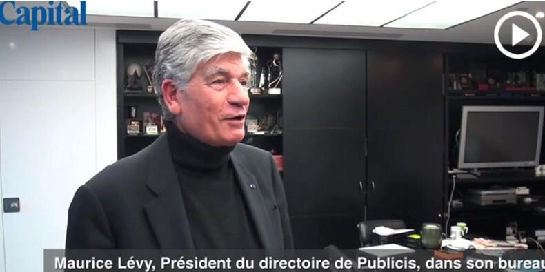 Le bureau de… Maurice Lévy, président du directoire de Publicis