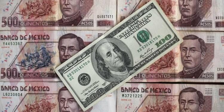 Le peso mexicain chute de près de 8% avec Trump donné en tête en Floride