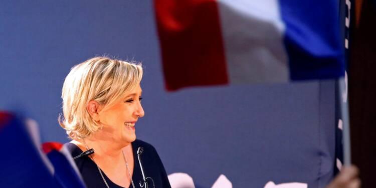 Le Pen (26,5%) devance Macron (25,5%) et Fillon (18%), selon un sondage Ifop