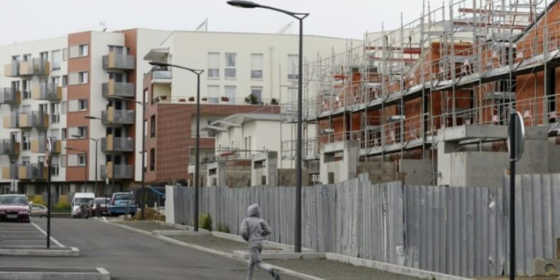 Logement neuf: les mises en chantier en France ont continué à progresser de juin à août