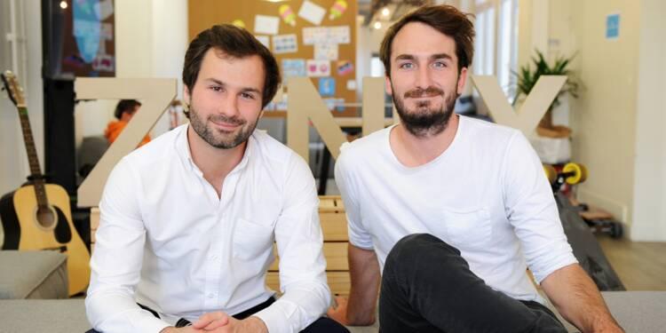Antoine Martin et Alexis Bonillo : avec leur appli, les ados se suivent à la trace