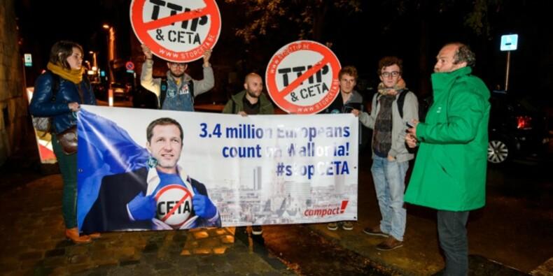 La Wallonie inflexible dans son refus du Ceta à la veille du sommet de l'UE