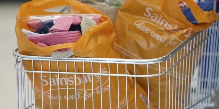 Sainsbury's affiche un bénéfice semestriel en baisse, le titre chute