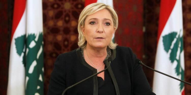 """Bachar al Assad est """"la seule solution viable"""", dit Le Pen"""