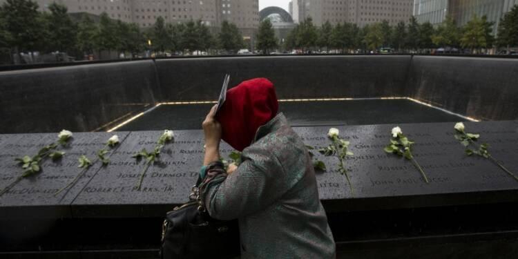 Recueillement contre selfies au mémorial du 11-Septembre