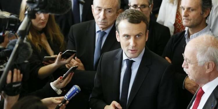 Macron dit refuser de polémiquer avec Fillon