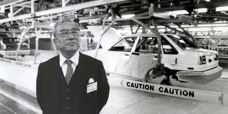 """Eiji Toyoda (1913-2013), Toyota : son """"juste-à-temps"""" a relégué le fordisme aux oubliettes"""