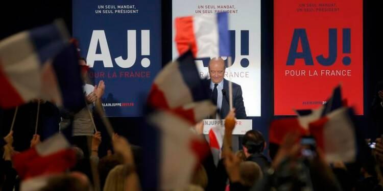 """Juppé oppose son """"humanisme"""" à la """"brutalité"""" de Fillon"""