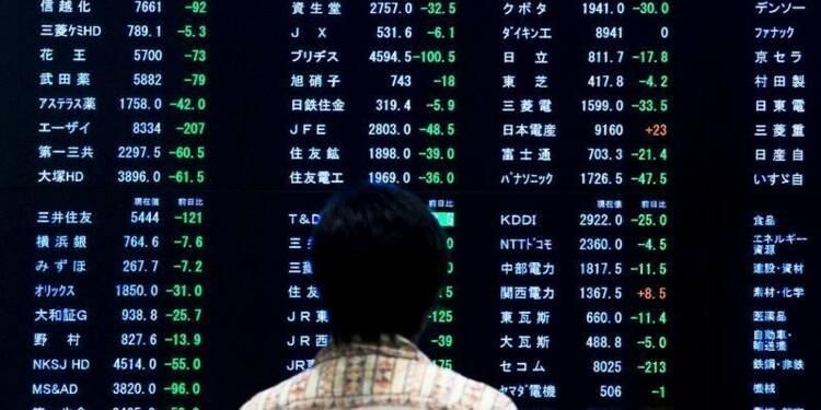 La Bourse de Tokyo finit en hausse de 0,26%